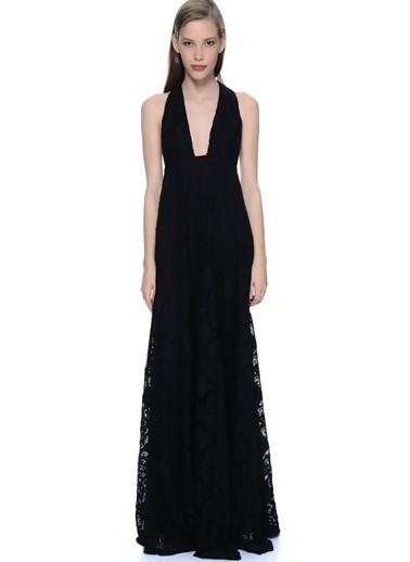 Glamorous Uzun Abiye Elbise Siyah